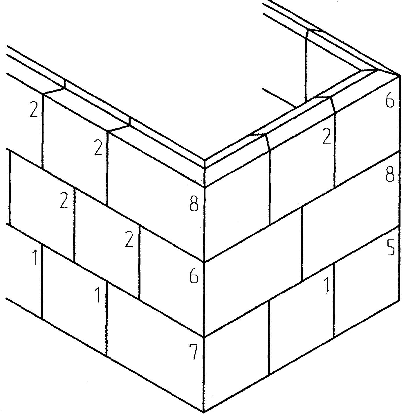 Свинцовый кирпич-схема